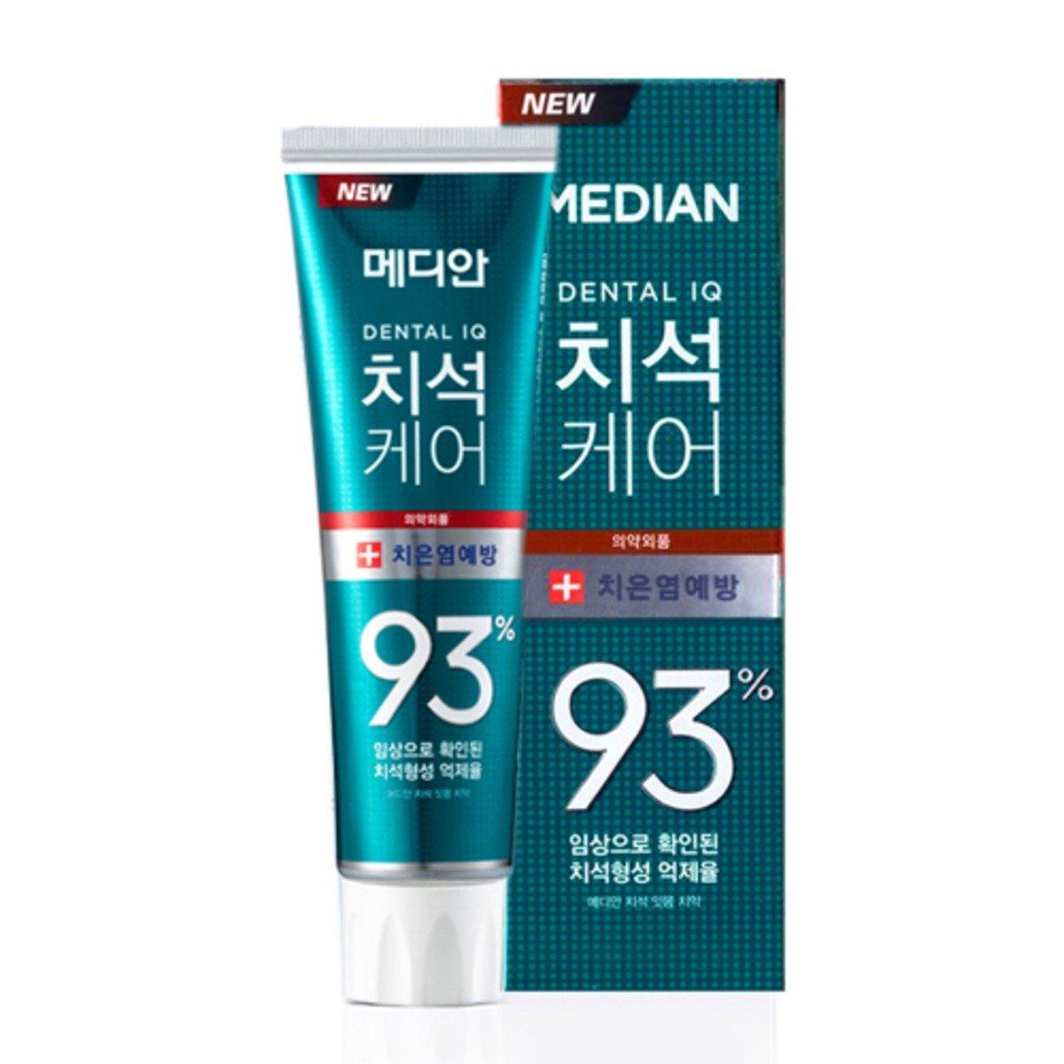 Median 牙石護理93 護齦牙膏 (綠色) 120g (此為平行進口產品)   [平行進口產品]