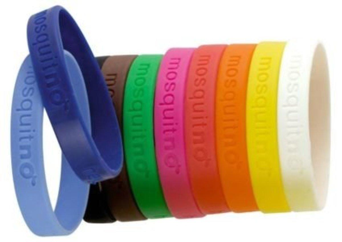 時尚防蚊手帶(小童)不含DEET (無包裝) 隨機顏色 [平行進口產品]