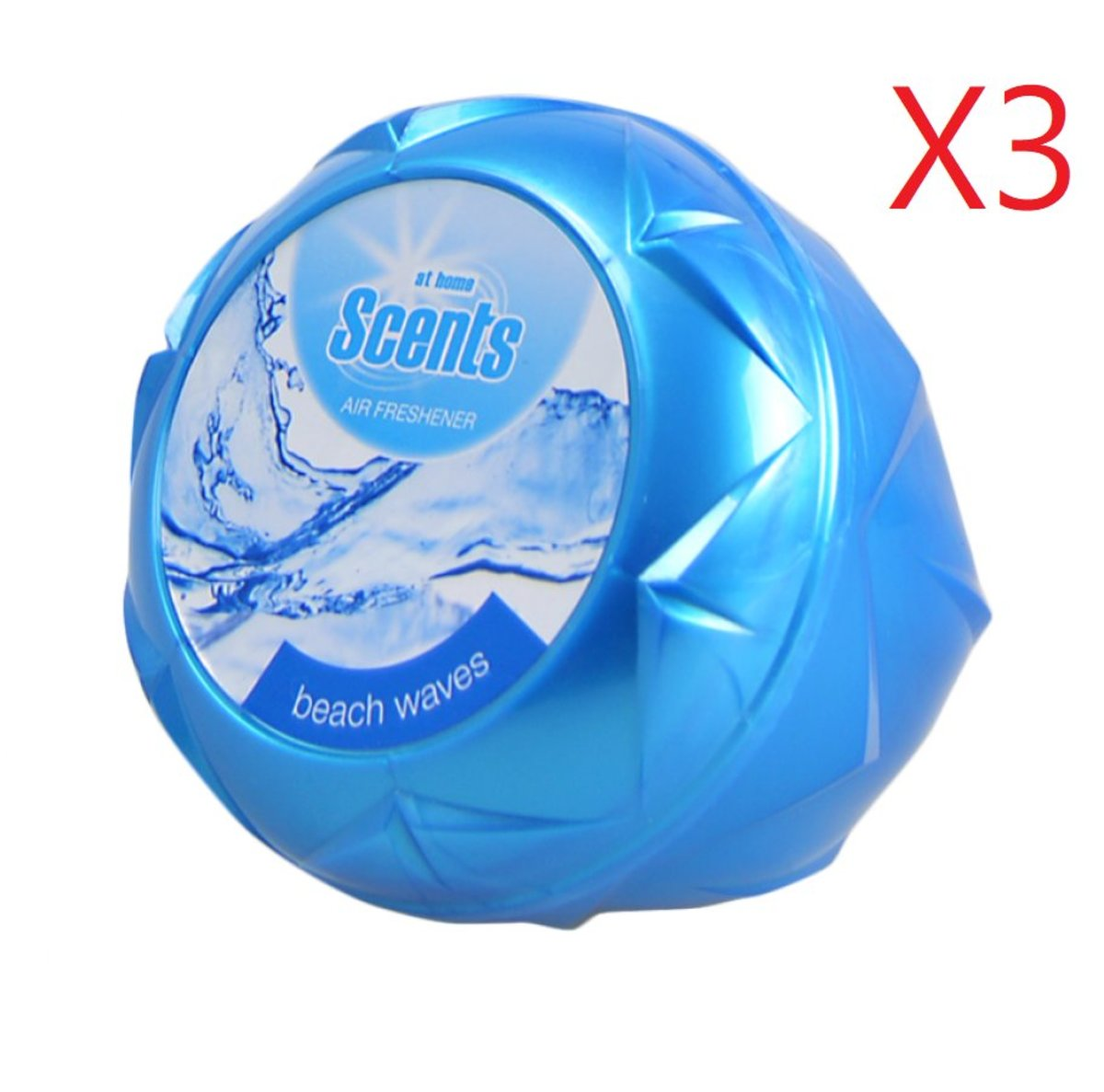 At Home Scents Air Refeshner  150g - Beach Wave    X 3pcs [Parallel Import Product]