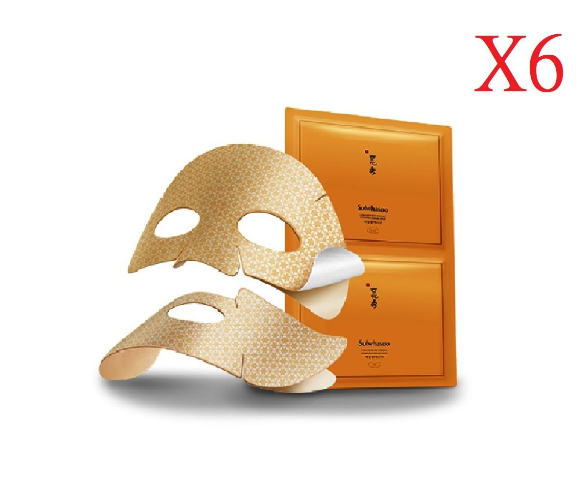Concentrated Gingseng Mask 18g X 6sheet   [Parallel Import Product]