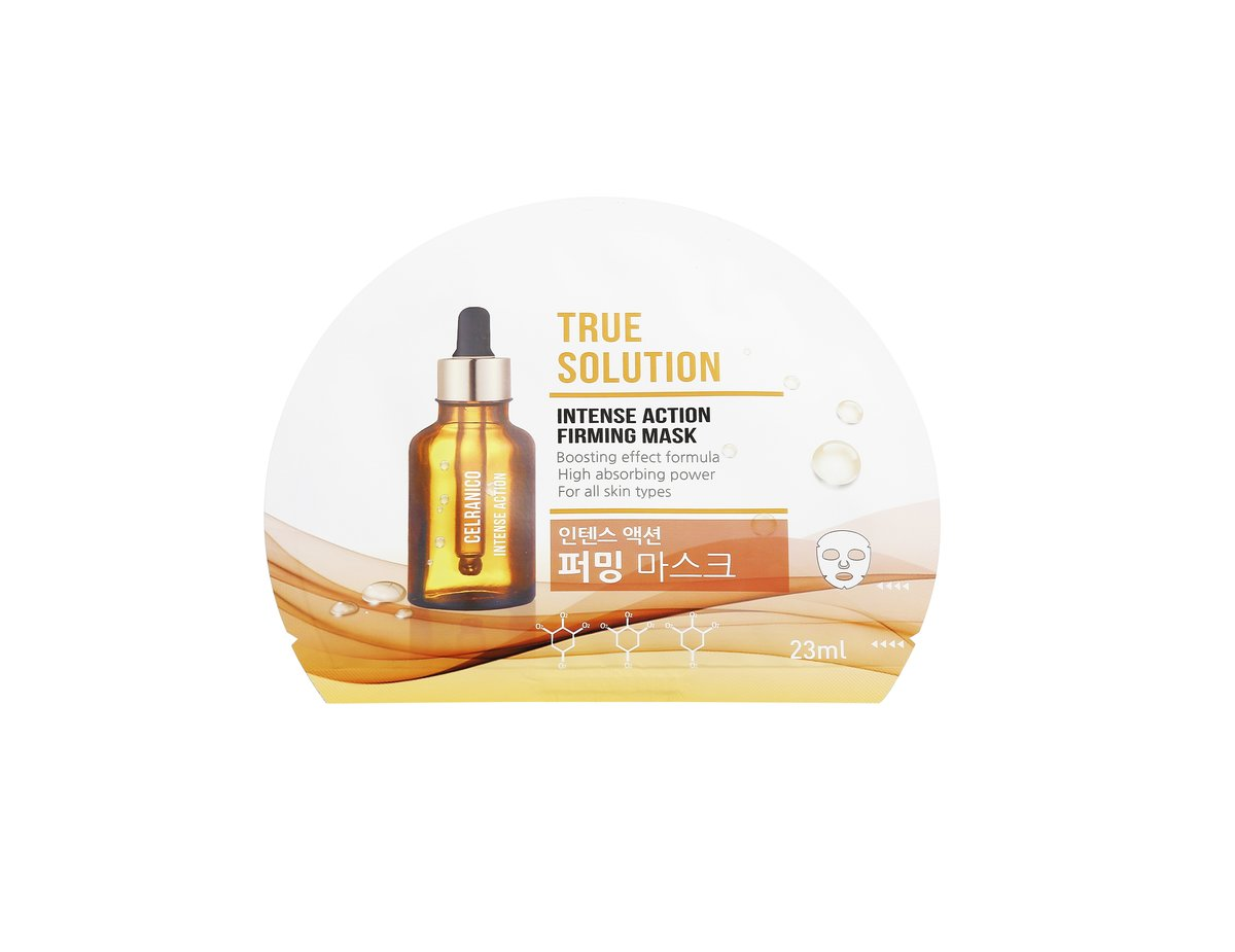 True Solution Double Effect Mask - Firming (1sheet)    [Parallel Import Product]