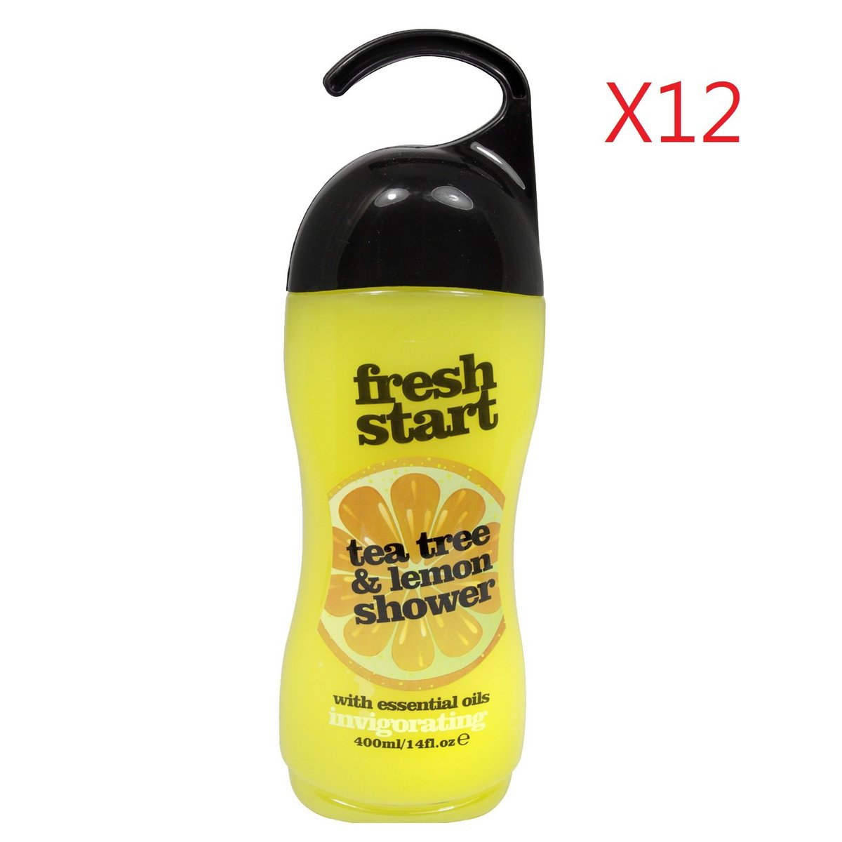 Fresh Start Shower Cream 400ml - Tea Tree + Lemon X12pcs [Parallel Import Product]