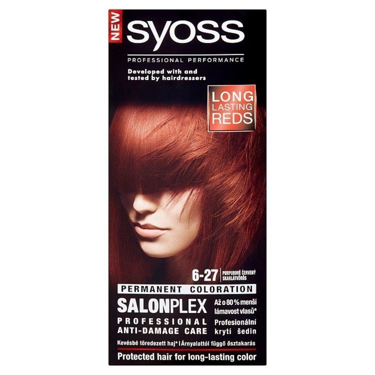 Salonplex Professional Anti-Damage Care Hair Color 6-27 Scarlett [Parallel Import Product]