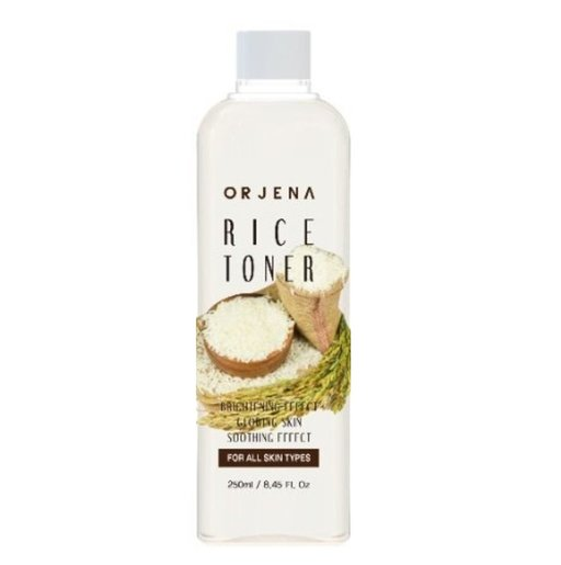 ORJENA   Brightening Effect Glowing Skin Soothing Effect Toner(Rice)250ml  [Parallel Import Product]   HKTVmall The Largest HK Shopping Platform