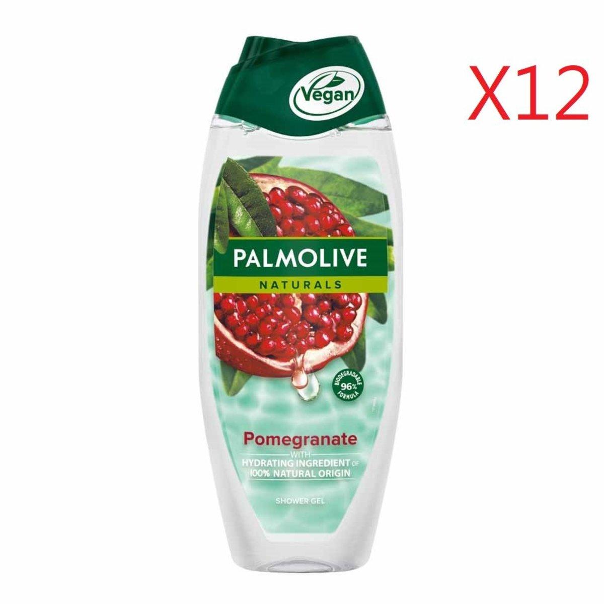 100% Natural Origin Shower Gel 500ml - Pomegranate X 12pcs [Parallel Import Product]