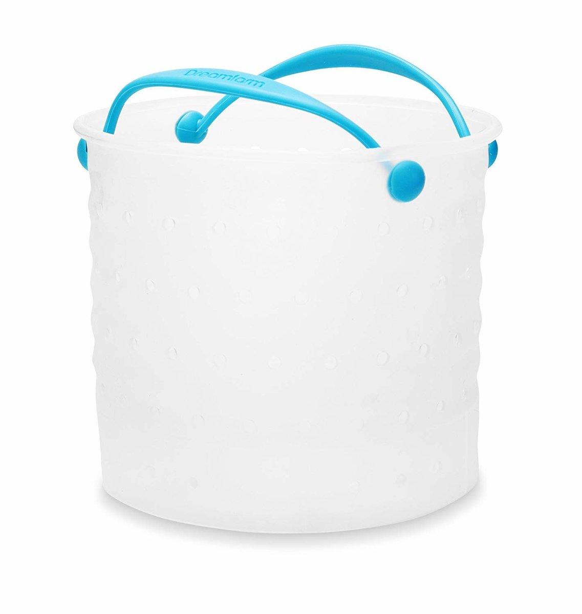 Vebo 矽膠蔬菜水煮鍋內濾籃小(適用於蒸煮、水煮、清洗和隔水)
