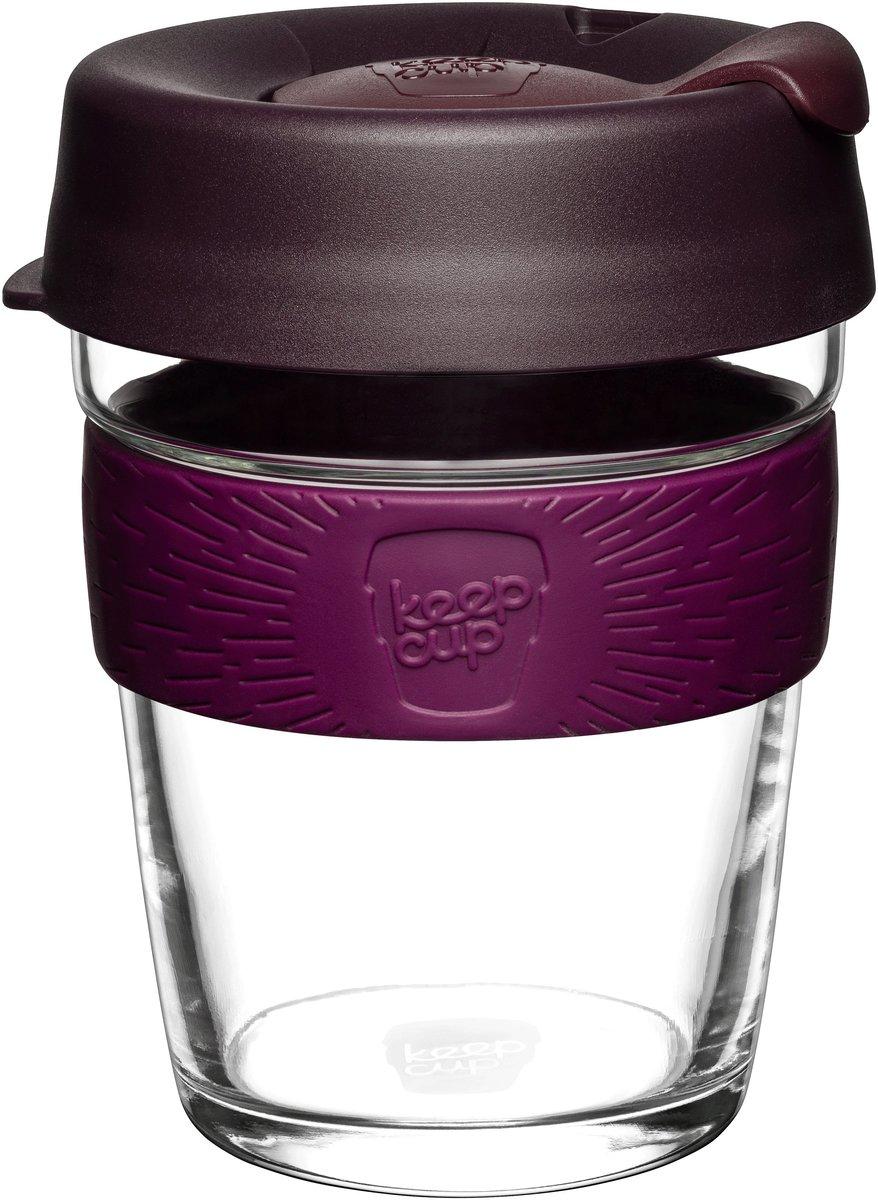 Brew Tempered Glass Cup Medium 12oz/340ml - Alder (Made in Australia)
