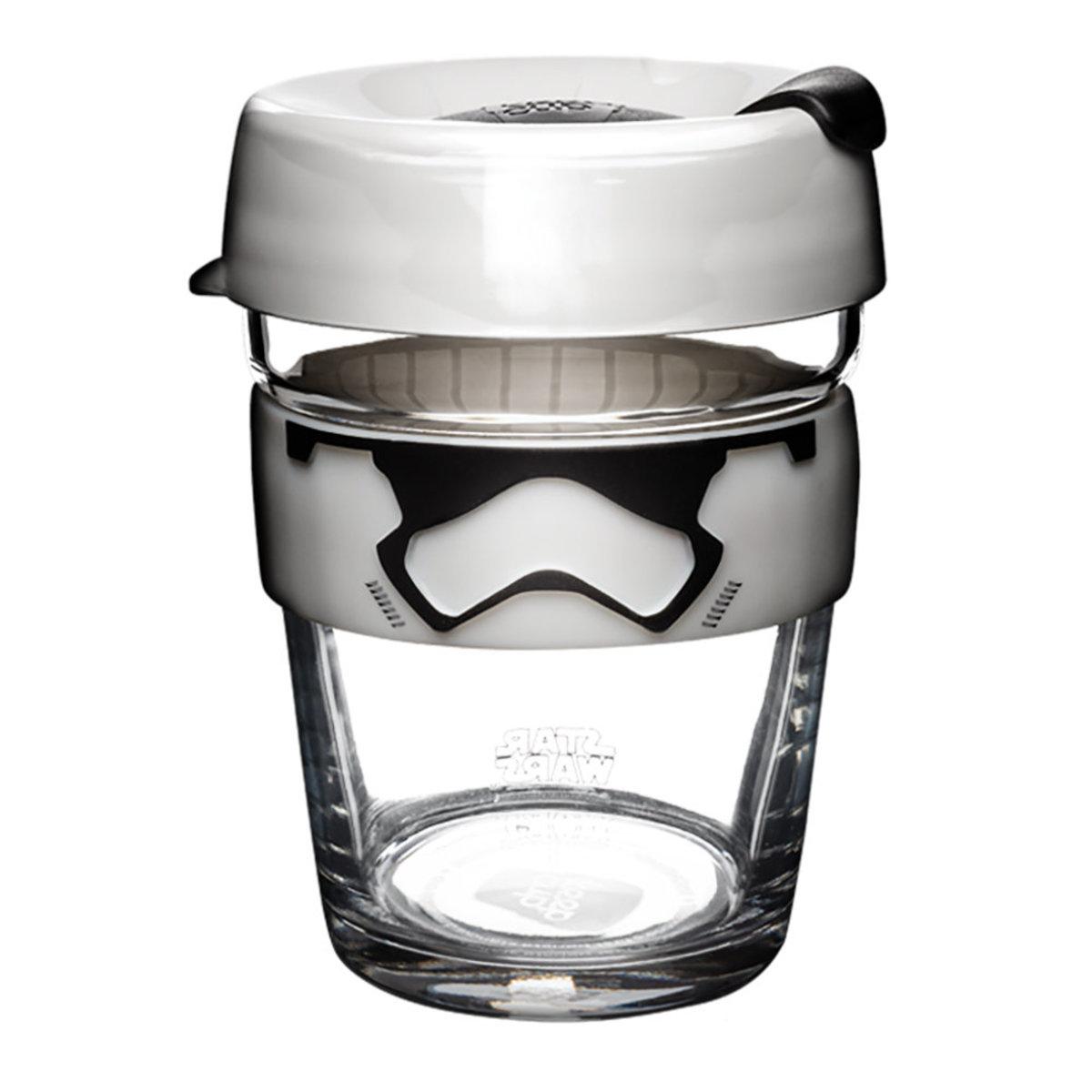 Brew Tempered Glass Cup Medium 12oz/340ml - Star Wars Stormtrooper