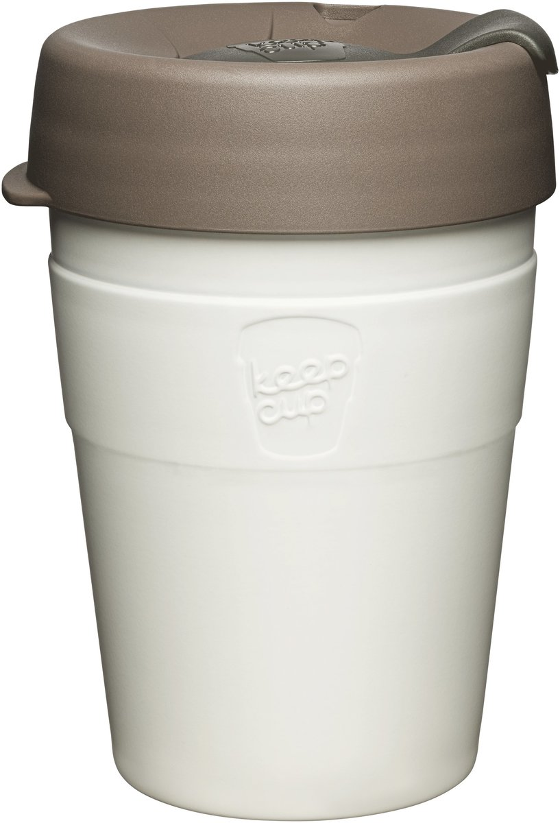Thermal Stainless Steel Reusable Cup Medium 12oz/340ml - Latte (Made in Australia)