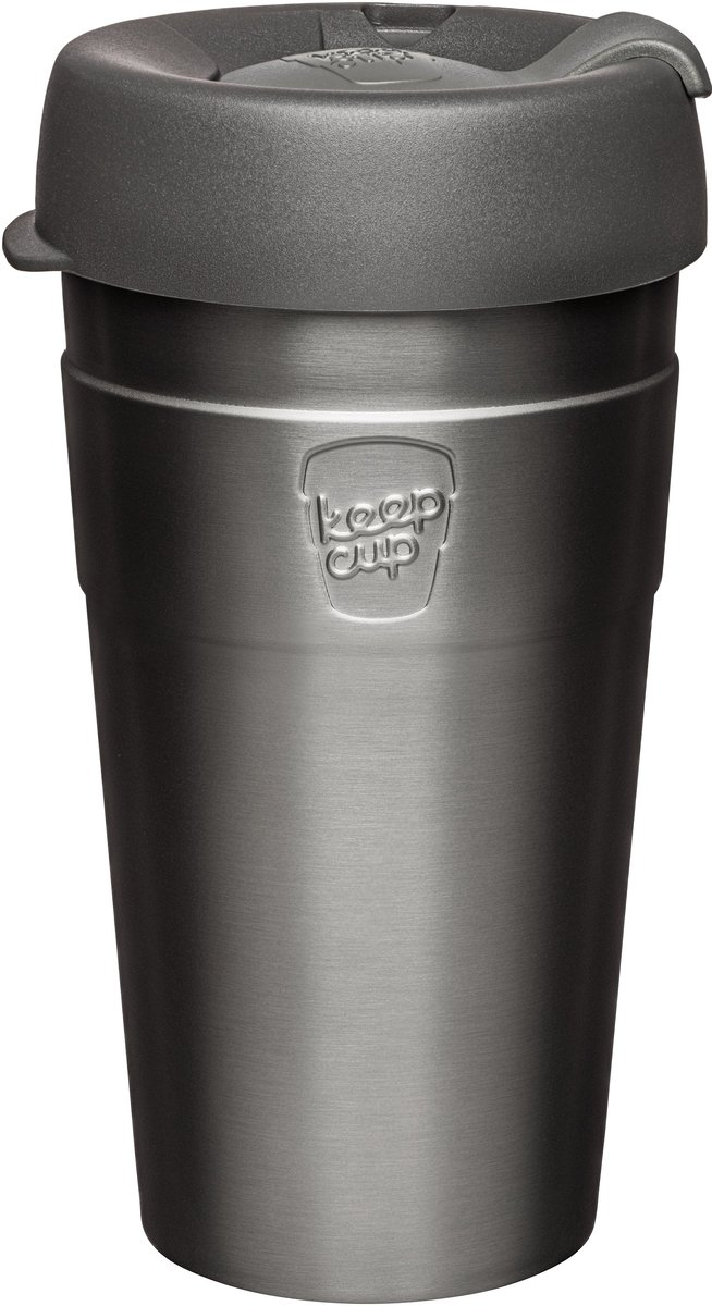 Thermal Stainless Steel Reusable Cup Large 16oz/454ml - Nitro (Made in Australia)