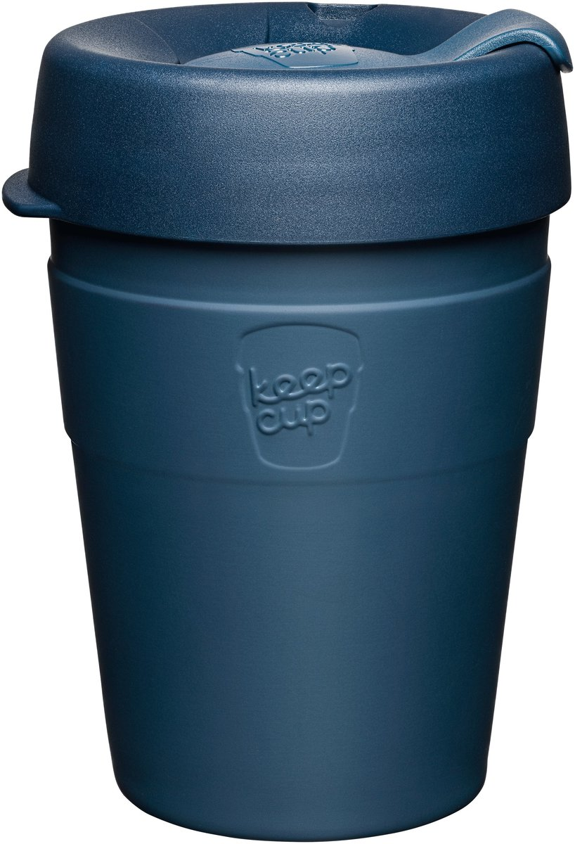 Thermal Stainless Steel Reusable Cup Medium 12oz/340ml - Spruce (Made in Australia)