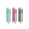 ZOKU Pocket Straw 3 Set Combo (Charcoal, Teal, Berry)