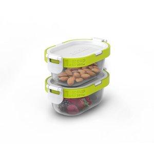 ZOKU Neat Stack 可嵌式食物盒飯盒套裝 (4件裝) - 微波爐可用