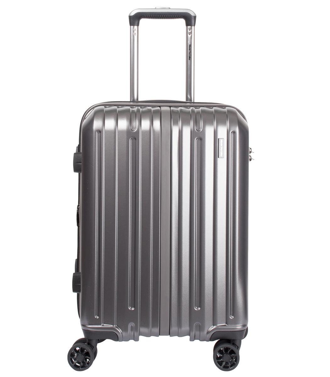 World Traveller - 多倫多51厘米20吋灰色小號旅行箱- 17T45104-010