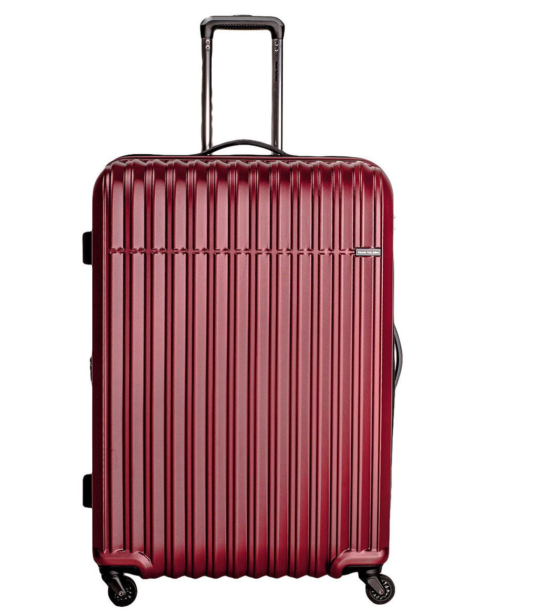 World Traveller - 台北61厘米24吋紅色中號旅行箱- 17T46103-008