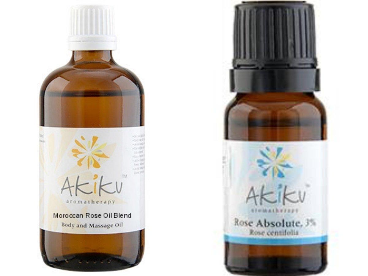 Moroccan Rose Oil Face & Body Care Value Set (Set of 2) (Rose_Set)