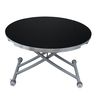Round shape Multi function lifting Coffee/Dining table MR-N5-3 Black