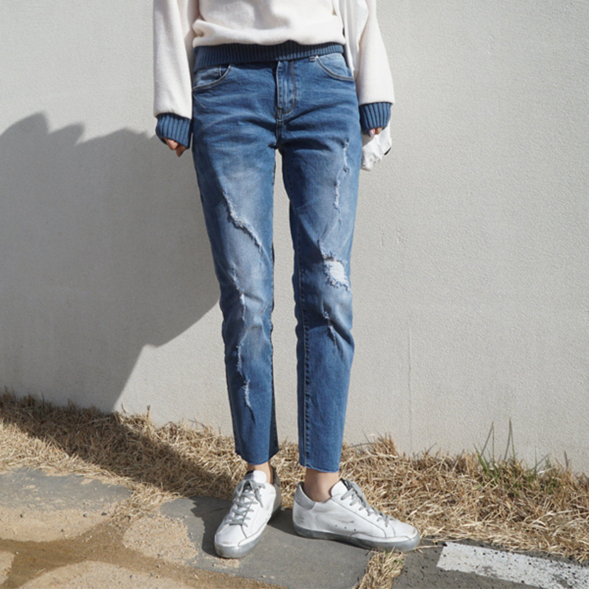 Na3003 Women'S Baggy Jeans