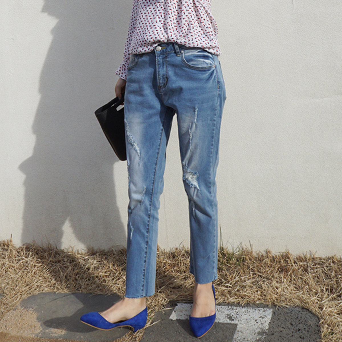 Na3004 Women'S Baggy Jeans