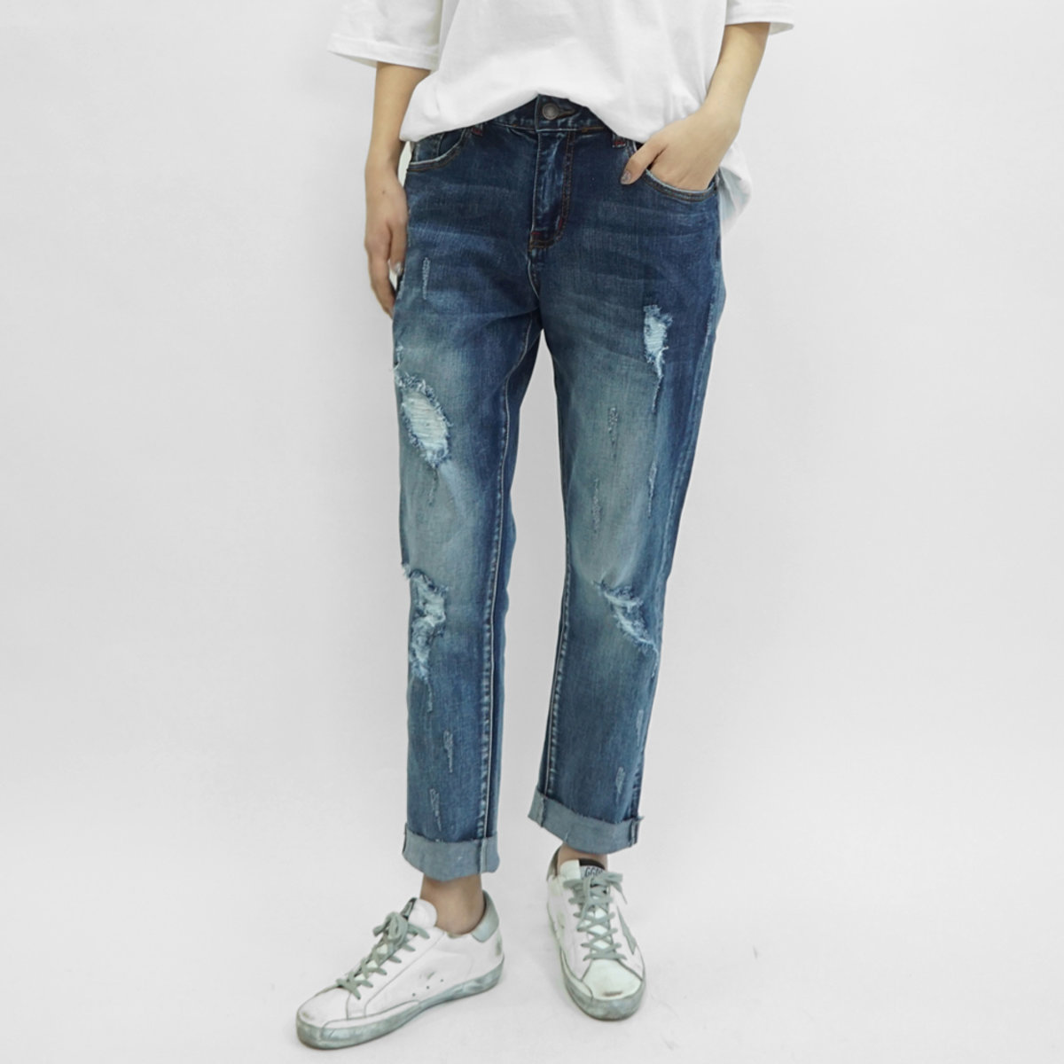 Na3005 Women'S Baggy Jeans