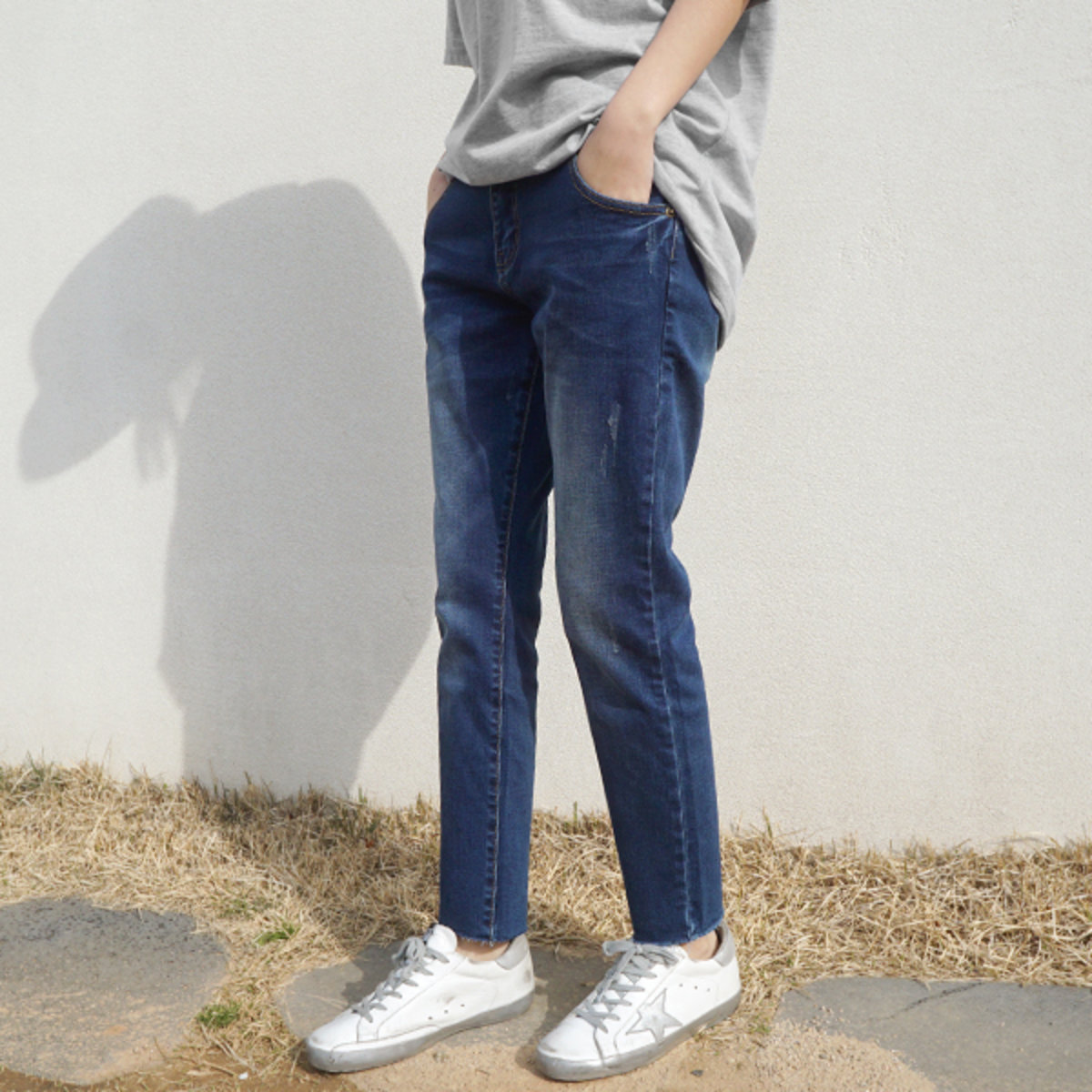Na3007 Women'S Baggy Jeans