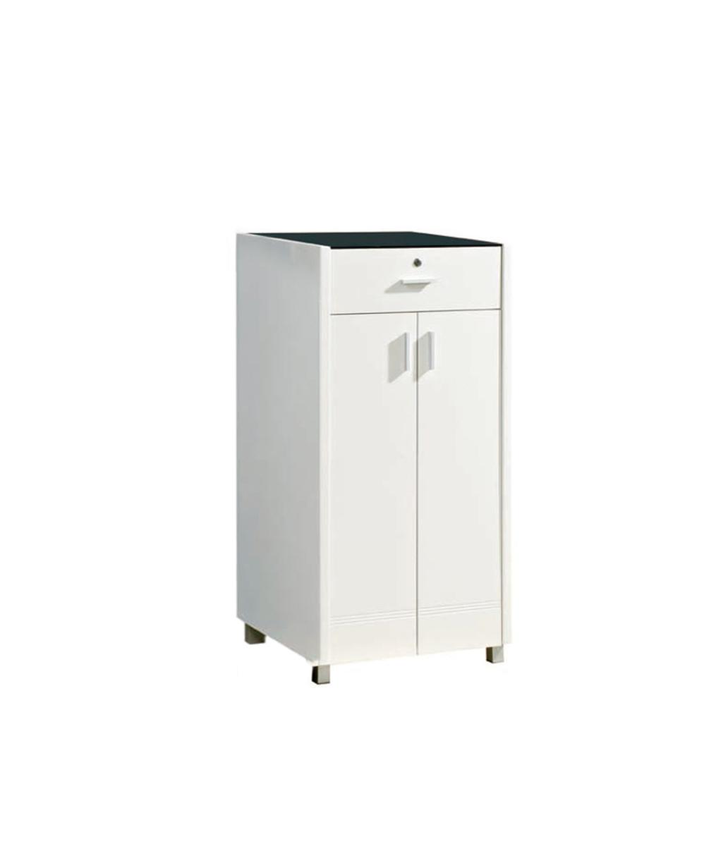 2 feet white high gloss cabinet