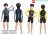 3mm Kids & Toddles New Wetsuit