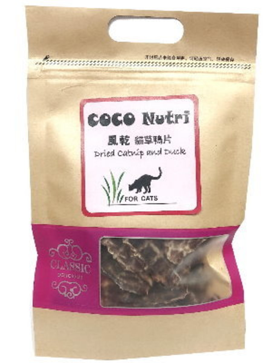 COCO NUTRI DRIED CATNIP AND DUCK