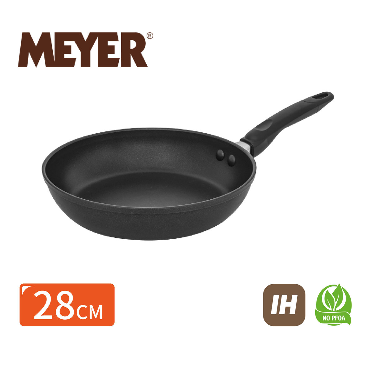 (Induction compatiable)COOK N LOOK 28cm Non Stick Frypan  (# 18892 )