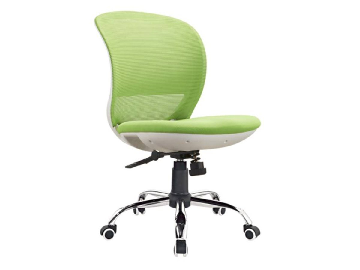 LH-C268-2 Green mesh rotating lift computer chair (package installation)