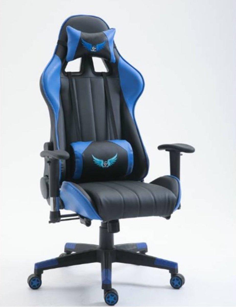 LH2003 Racecar Seat Chair Blue (package installation)