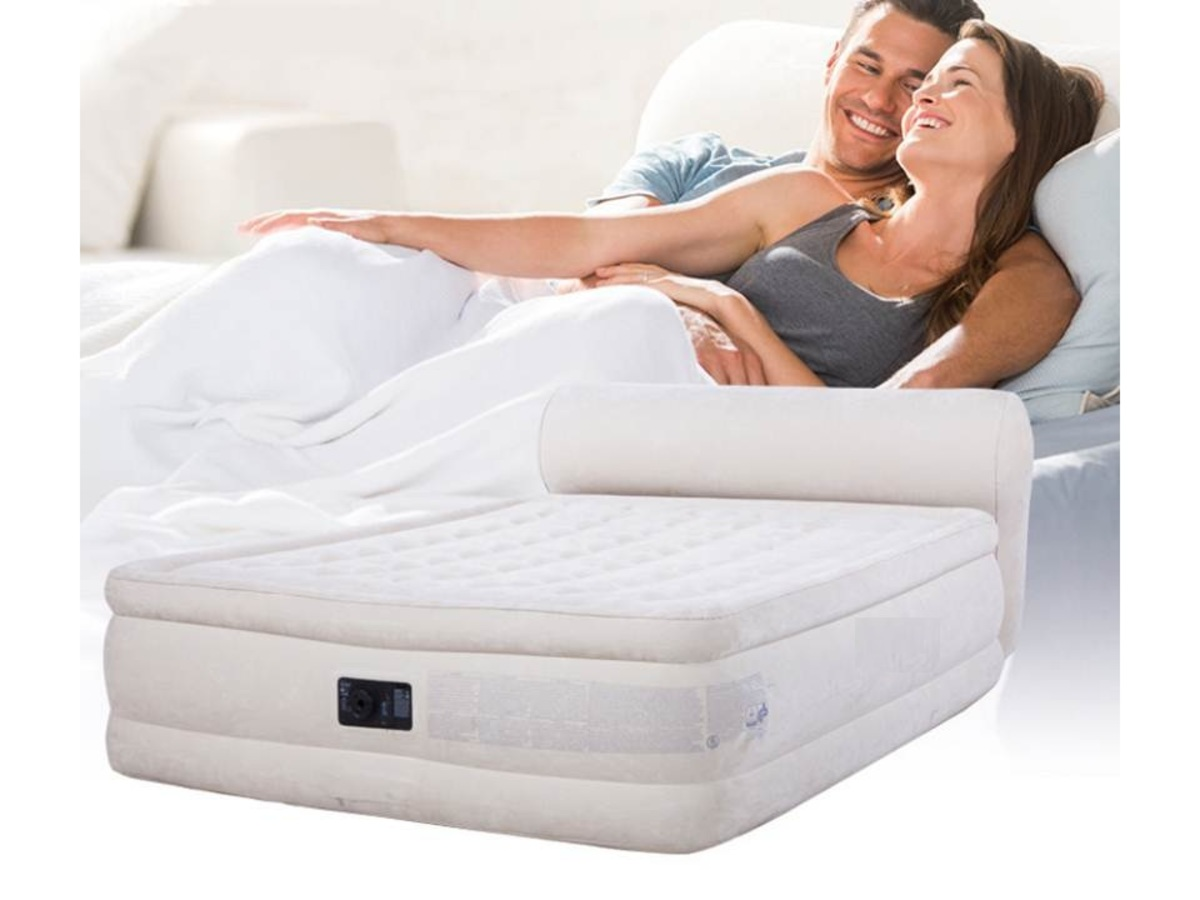 LH644 back double double thickened air bed built-in electric pump