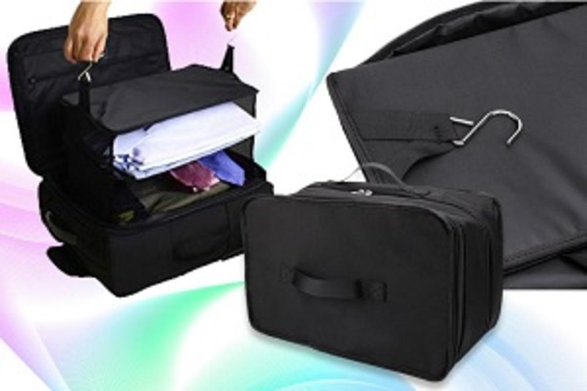 3-layer Travel Wardrobe Bag (Save Space Magically)