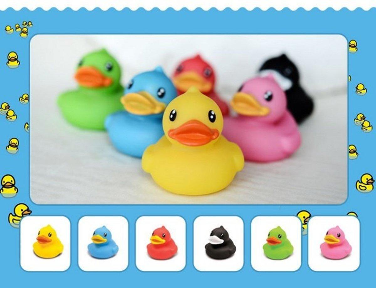 B.Duck 迷你浮水鴨仔套裝(2件裝)mini Floating Duck (2 pcs) (顏色隨機)