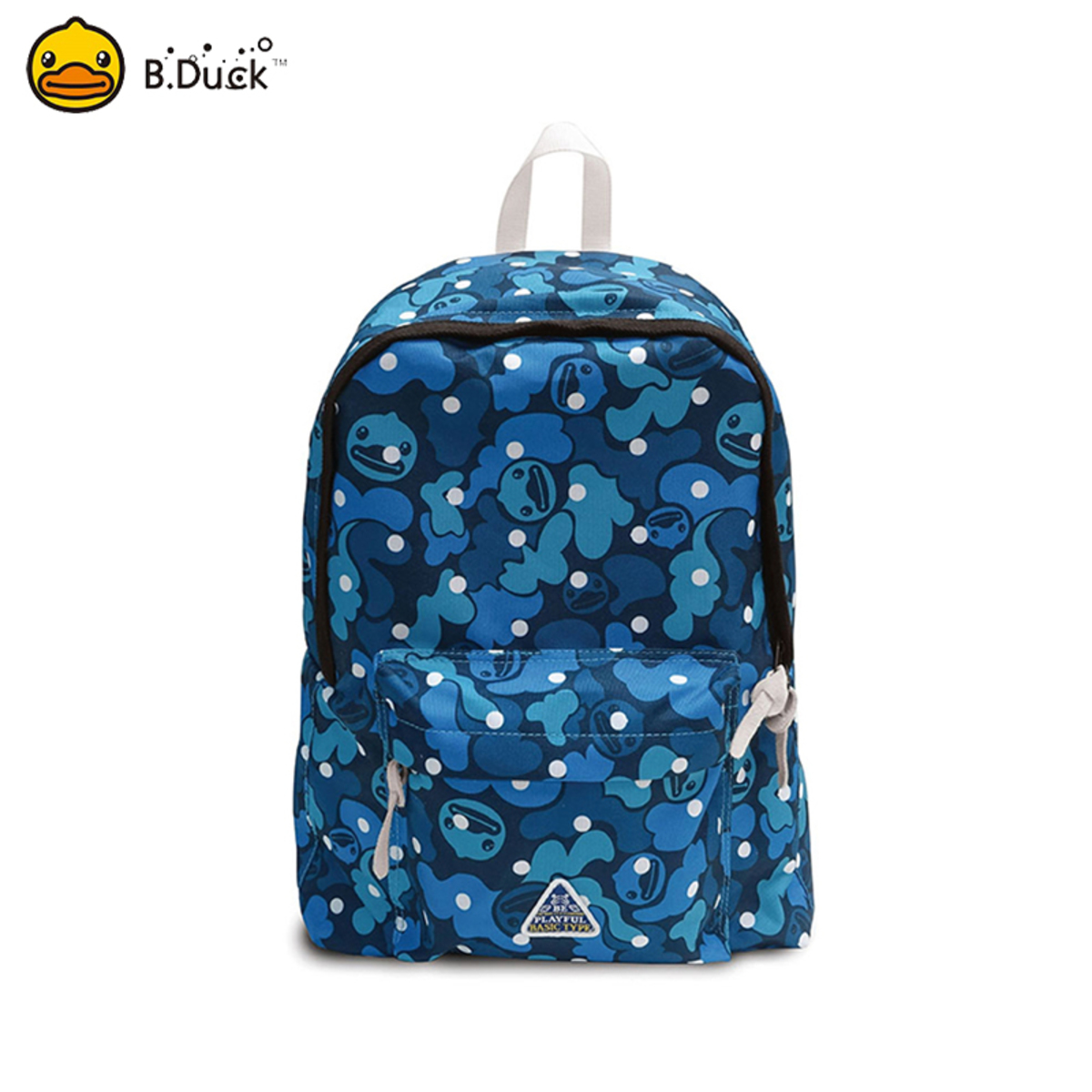 B.Duck Mountaineering Backpack (Navy Camouflage)