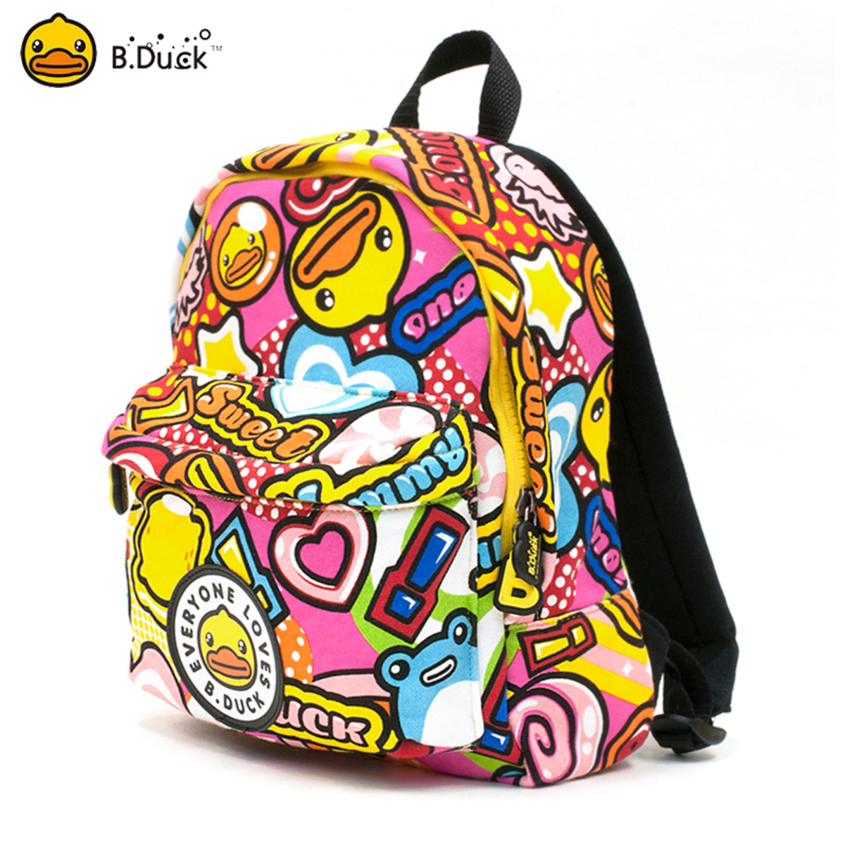 B.Duck Kids Backpack (Candy)