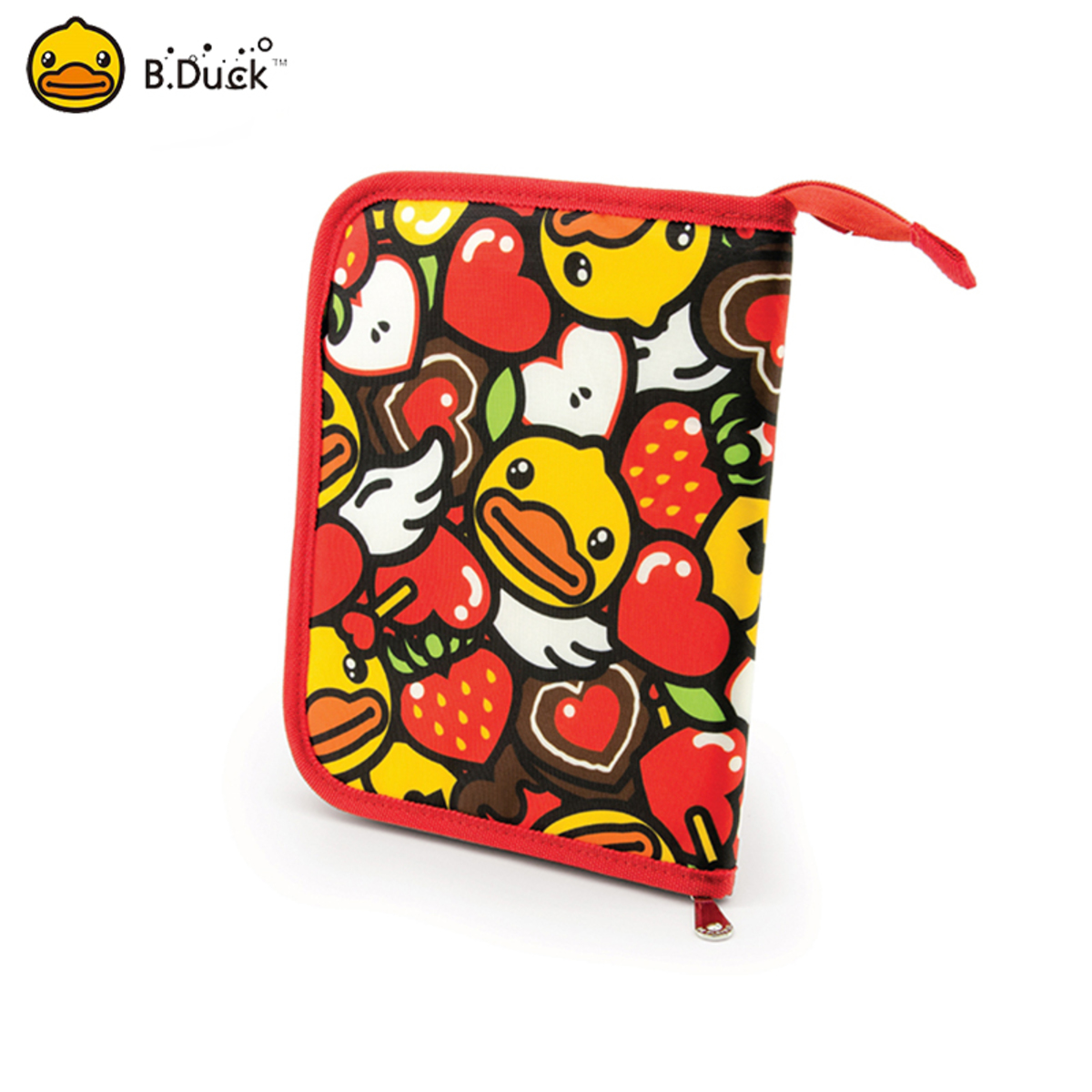 B.Duck Multi-function Pouch (Strawberry)