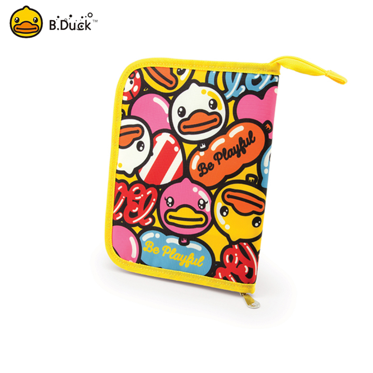 B.Duck Multi-function Pouch (Yellow)