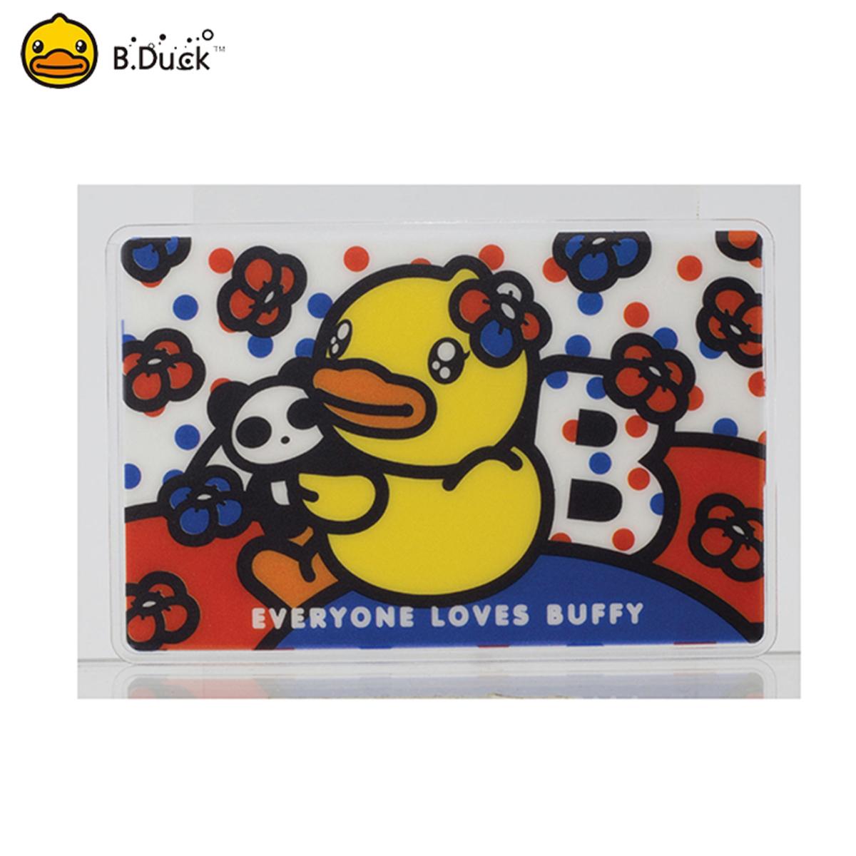 B.Duck Buffy Octopus Card Holder (Red & Blue)
