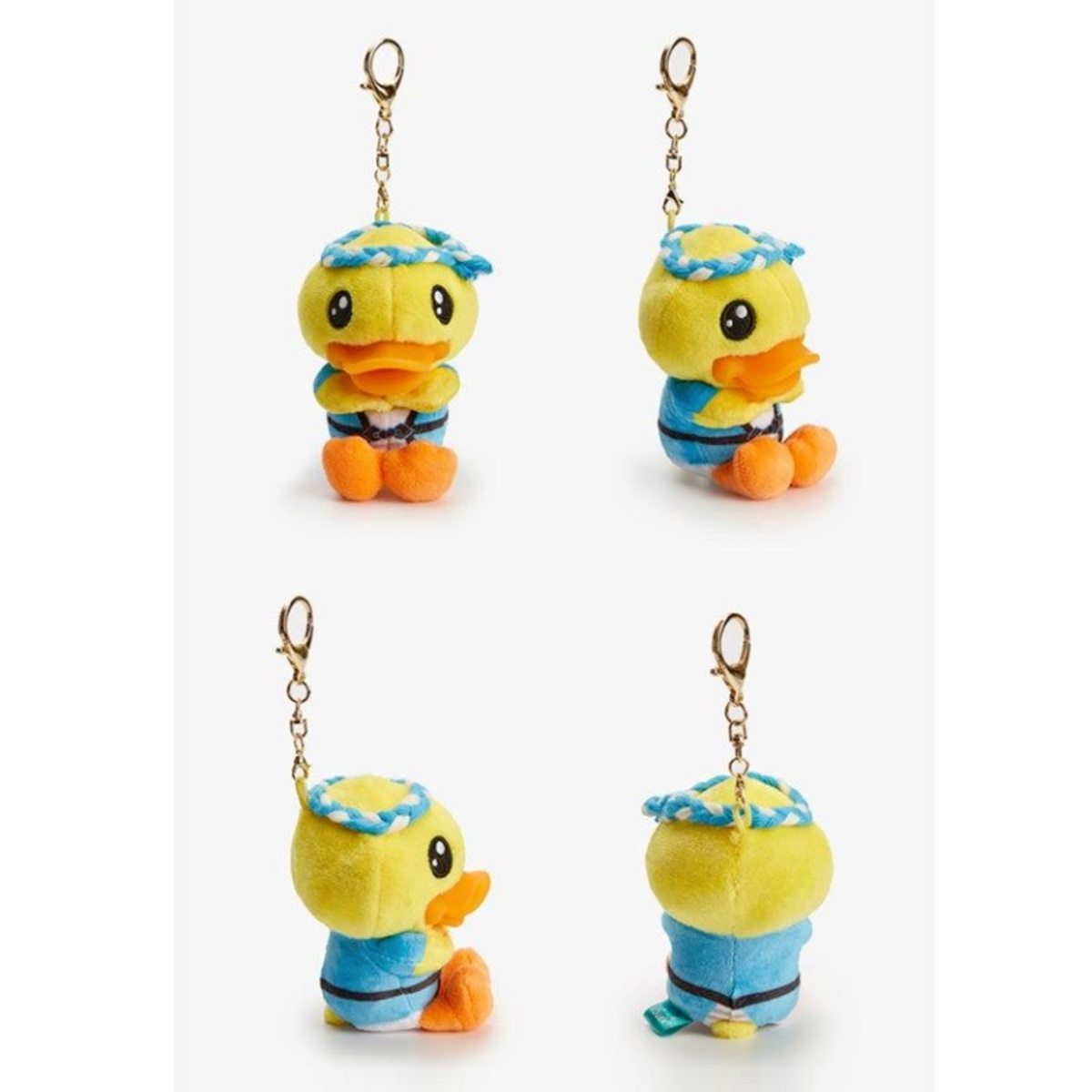 B.Duck Plush Keyring (Japan)