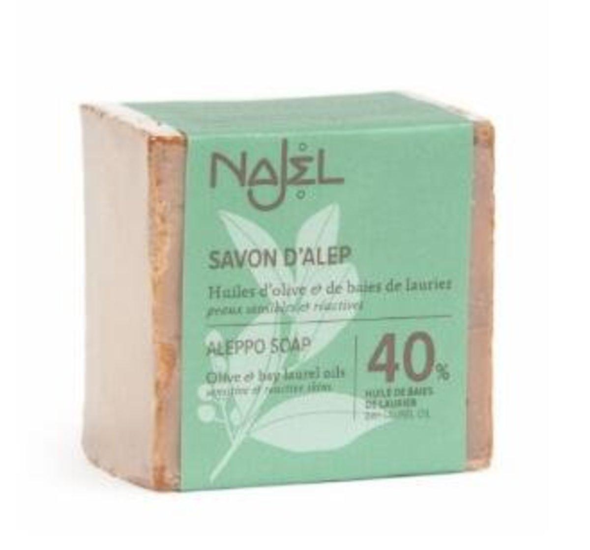 40% 月桂油敍利亞阿勒頗手工古皂 (185g)
