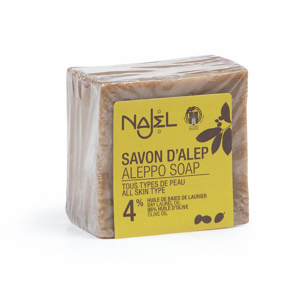 4% Aleppo Soap