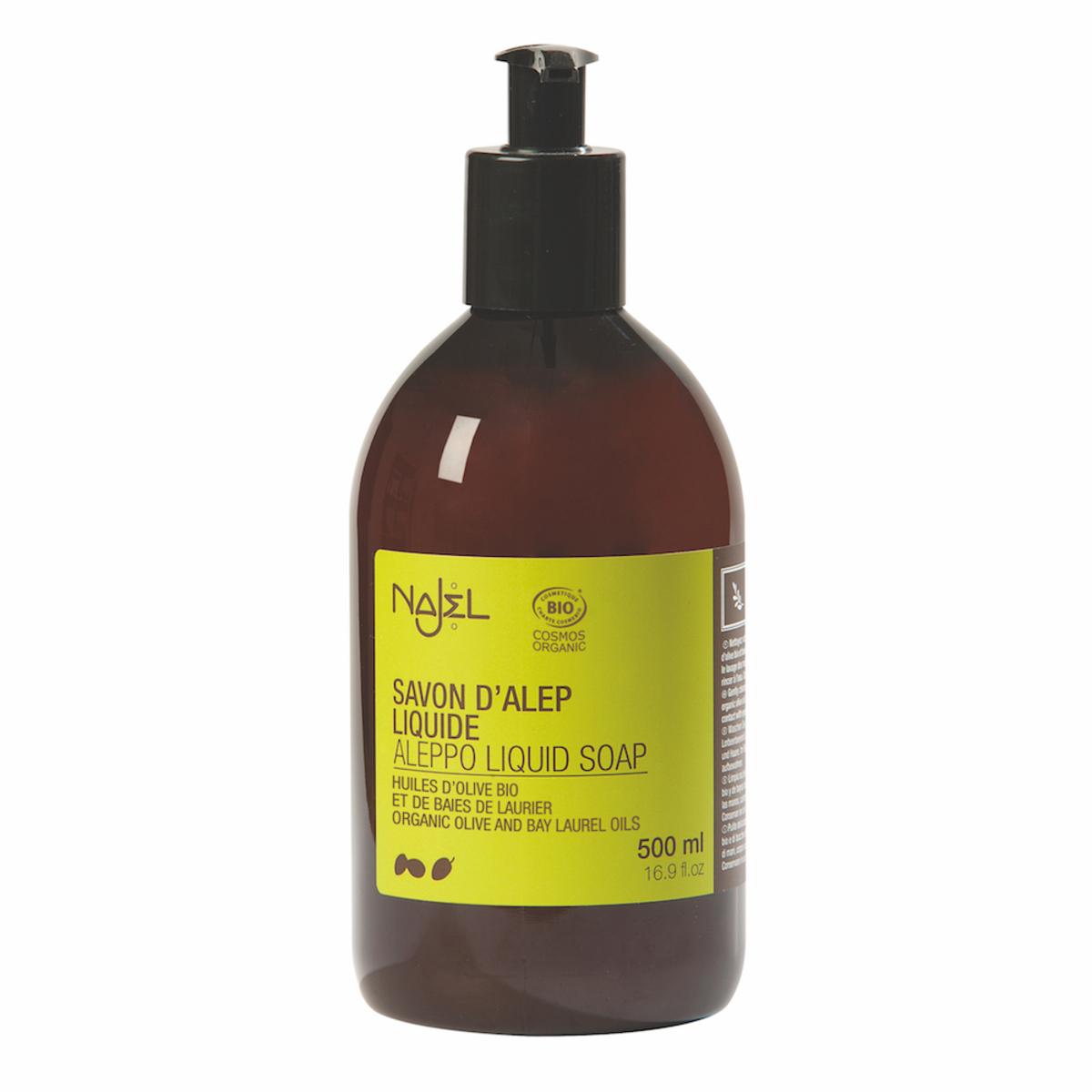 Organic Aleppo Liquid Soap (4% BLO)