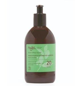 天然有機阿勒頗皂液 (20%月桂油) (500ml)