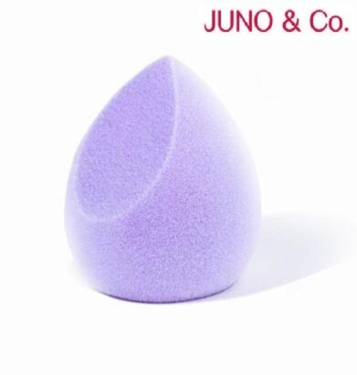 Best Sellers-絲絨半圓粉撲-熏衣紫