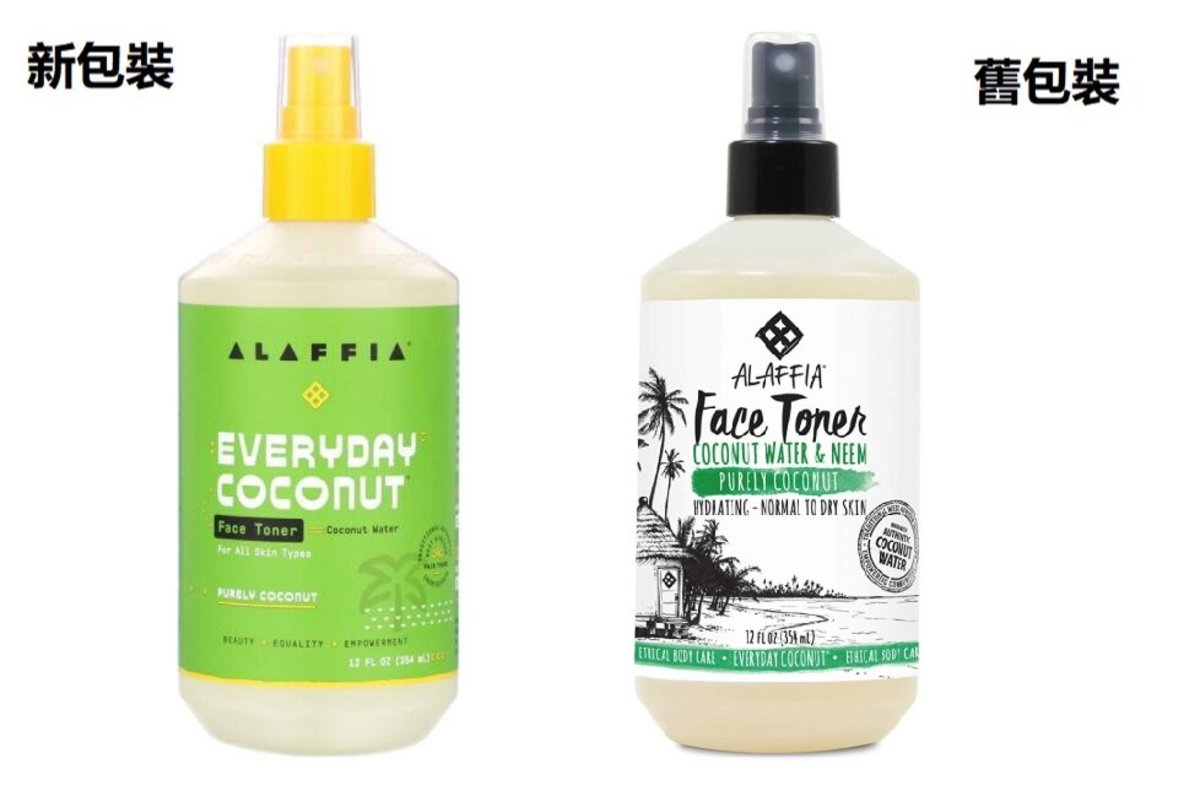 Alaffia, Face Toner, Purely Coconut, Normal to Dry Skin, 12 fl oz (354 ml)[Parallel Import]
