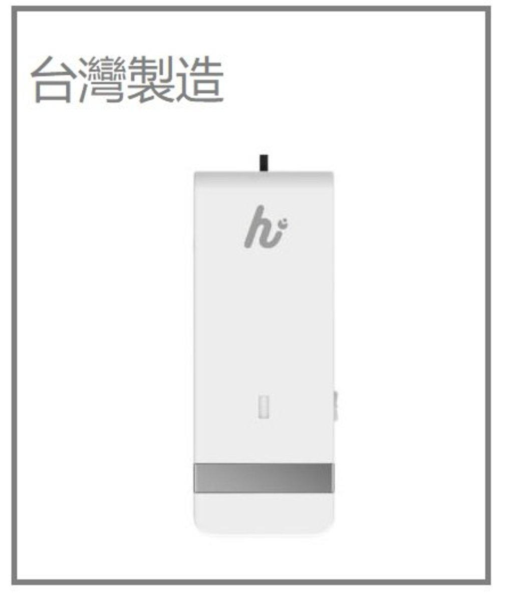 <台灣製造>高效隨身便攜式負離子空氣淨化器超輕巧/PM2.5 除菌99.99% 殺菌消毒(白色)