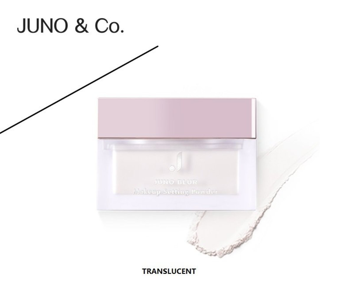 Juno Blur Makeup Setting Powder Natural white Translucent  20g/ 0.7oz