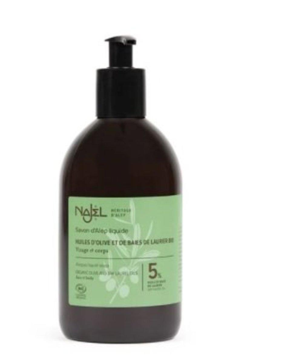 Organic Aleppo Liquid Soap (5% BLO)
