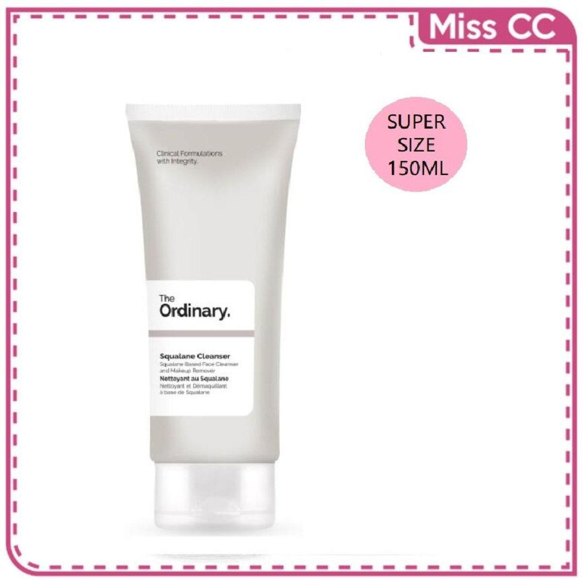 Squalane Cleanser Supersize Exclusive 150ml [Parallel Import]